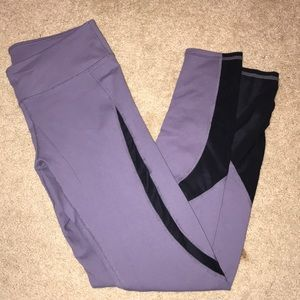 work out leggings ( matching top in closet)